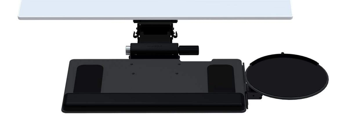 Humanscale Keyboard Platfrm 900-CLIP MOUSE Humanscale 6G Under Desk Keyboard Trays System with 900 Platform Board