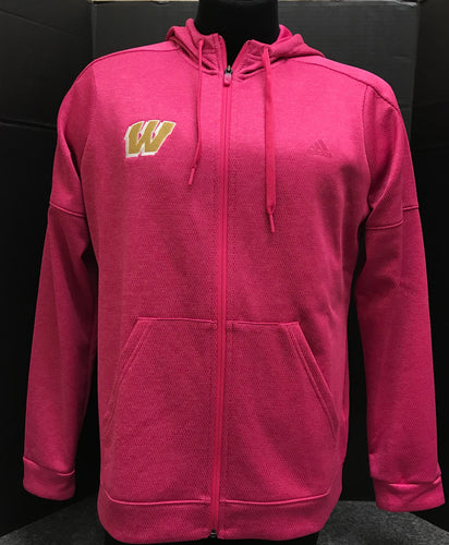 Full Zip Pink Women's Jacket