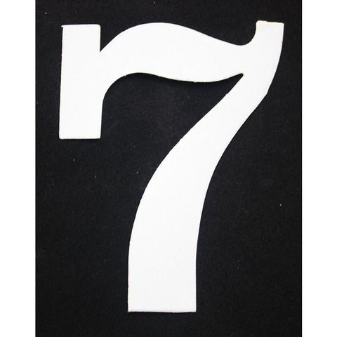 "Deco Style 4"" Reflective Number - 7 - Address America"