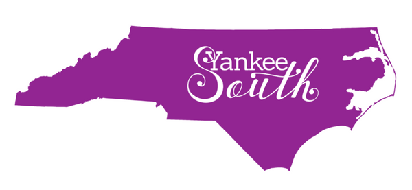 Yankee South North Carolina Decal - Yankee South