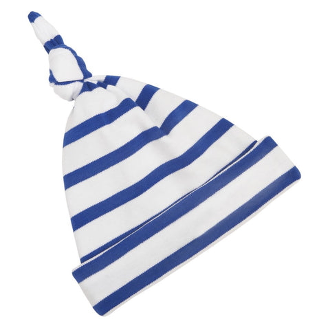 French Blue & White Breton Striped Hat