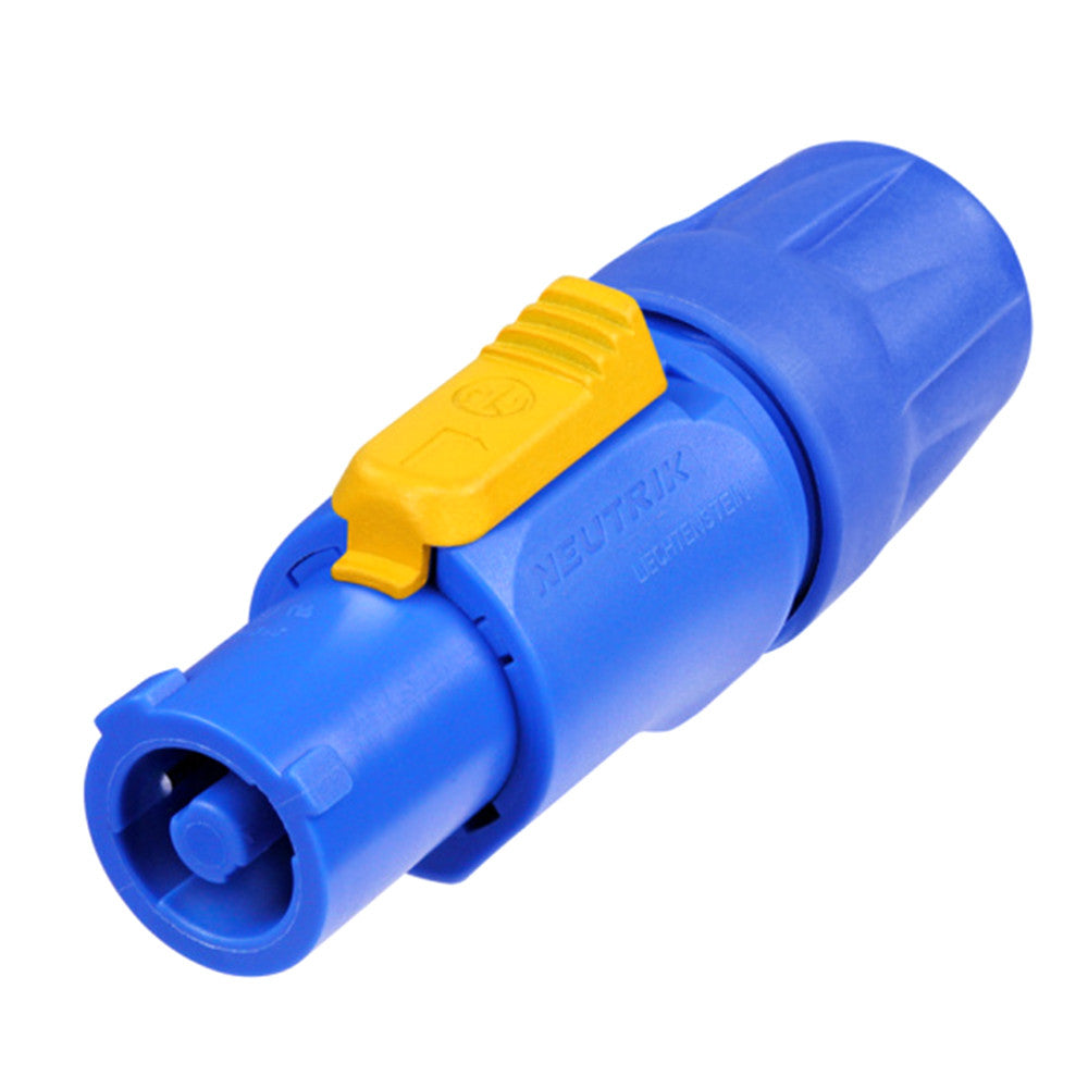 Neutrik powerCON Inline Connector -  In, Blue - NAC3FCA