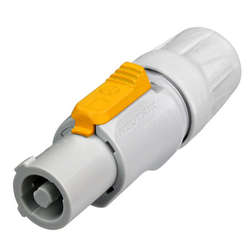 Neutrik powerCON Inline Connector -  Out, Gray - NAC3FCB