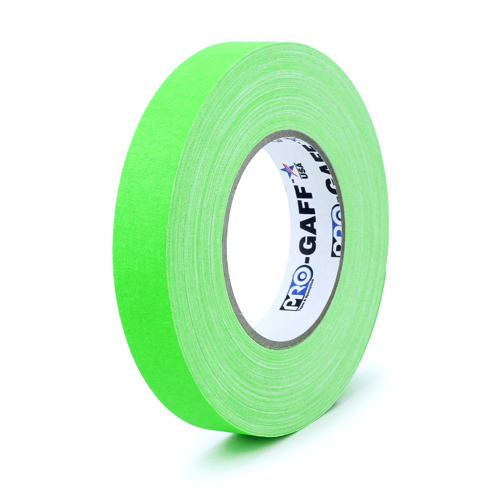 "Pro Gaff Tape - 1"" X 50yd, Neon Green"