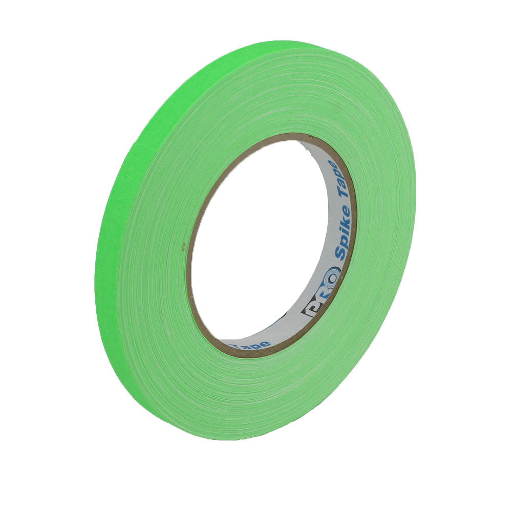 "Pro Gaff Spike Tape - 1/2"" X 45yd, Neon Green"