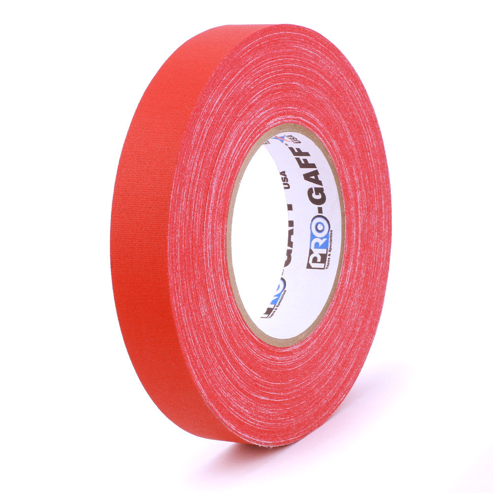 "Pro Gaff Tape - 1"" X 55yd, Red"
