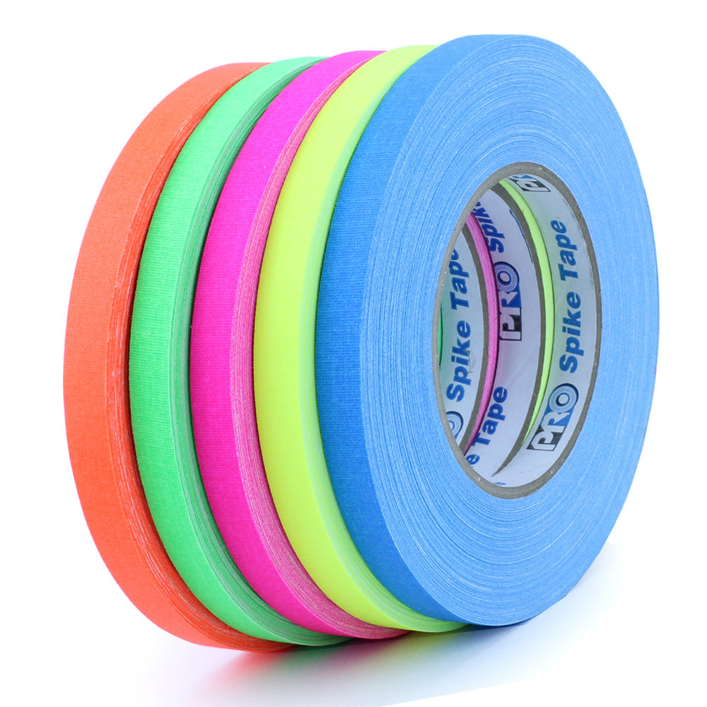 "Pro Gaff Spike Tape - 1/2"" X 45yd, 5 Color Pack"