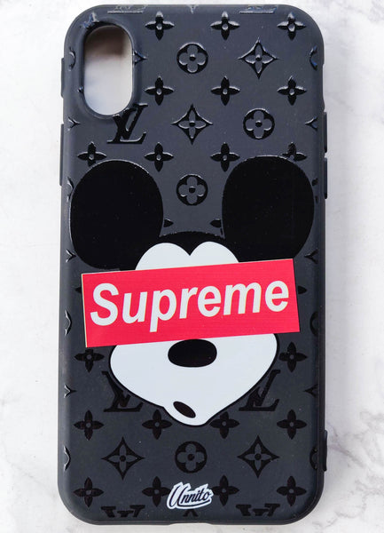 Supreme Micky LV 3D Case for iPhone - Black Case