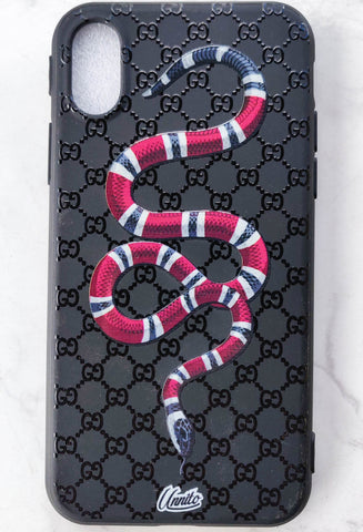 Gucci Snake 3D Case for iPhone - Black Case
