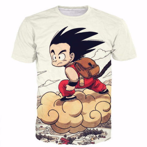 Kid Goku Fly nimbus t shirt