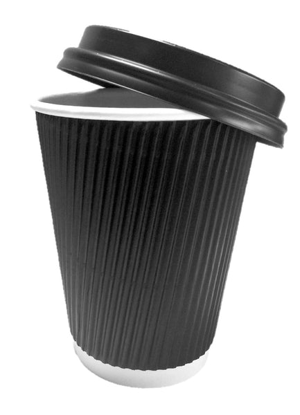 8oz Ripple Cups / Cup Lids