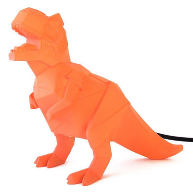 Orange Dinosaur T-Rex Lamp
