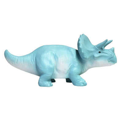 LED Turquoise Triceratops Dinosaur Light