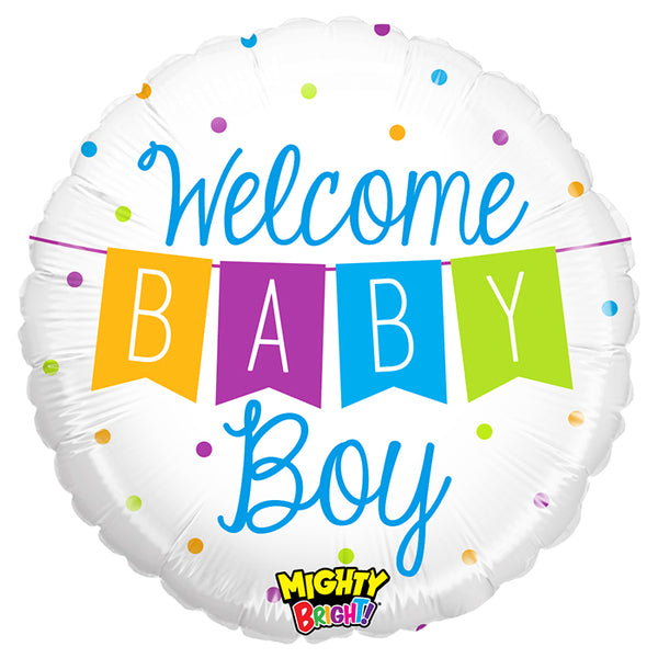 Mighty Baby Boy Banner
