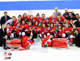 Team Canada 2014 Womens Hockey 8x10 Photograph