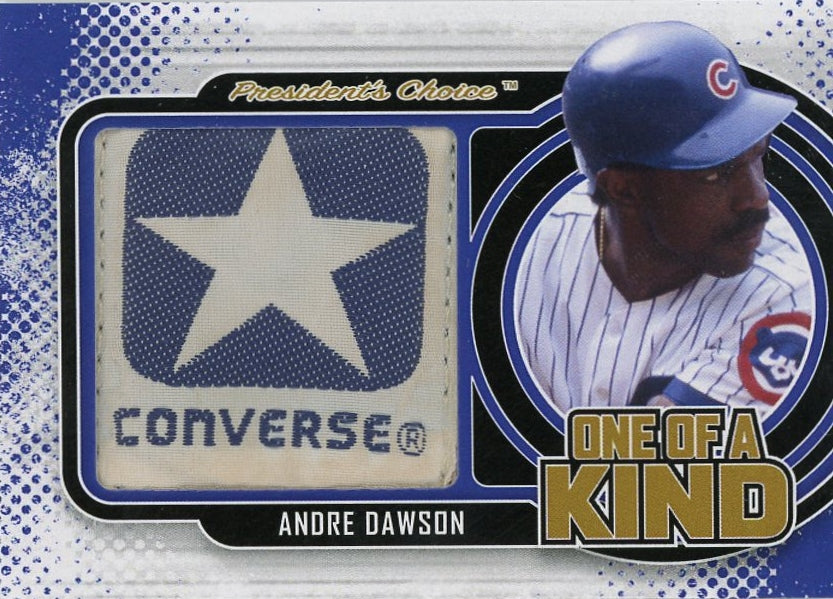Andre Dawson One of a Kind 1/1