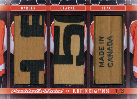 Barber, Clarke, Leach LineMates /3