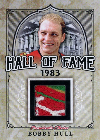 Bobby Hull Hall of Fame 1/1