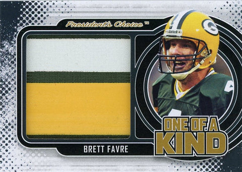 Brett Favre One of A Kind 1/1