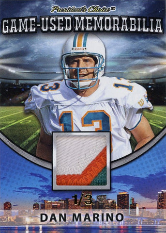 Dan Marino Game-Used Memorabilia /3