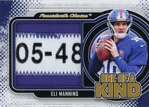 Eli Manning One of A Kind 1/1