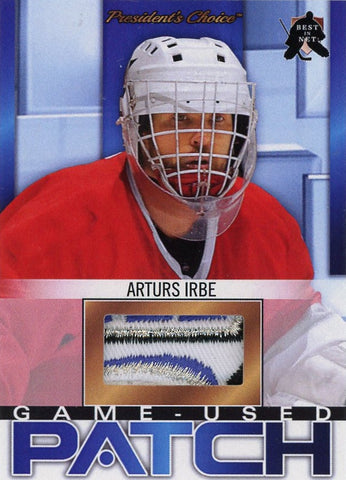 Arturs Irbe (1999 All-Star Game) Game-Used Patch 1/1