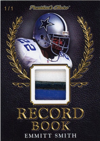 Emmitt Smith Record Book 1/1