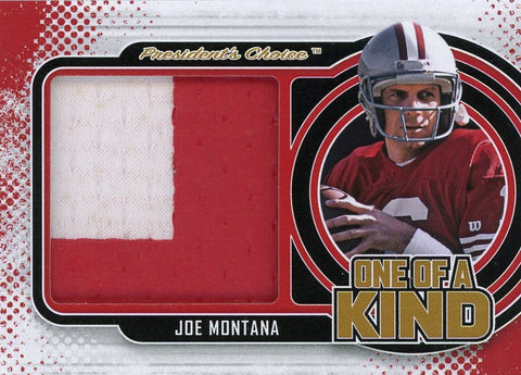 Joe Montana One of A Kind 1/1