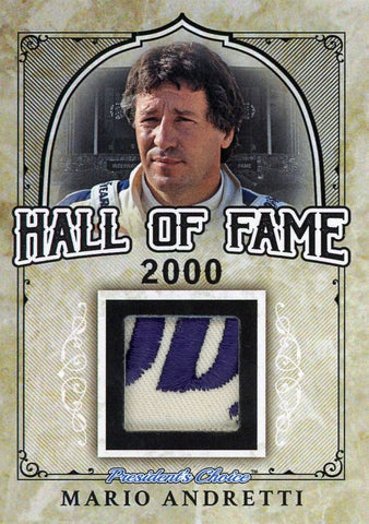 Mario Andretti Hall of Fame 1/1