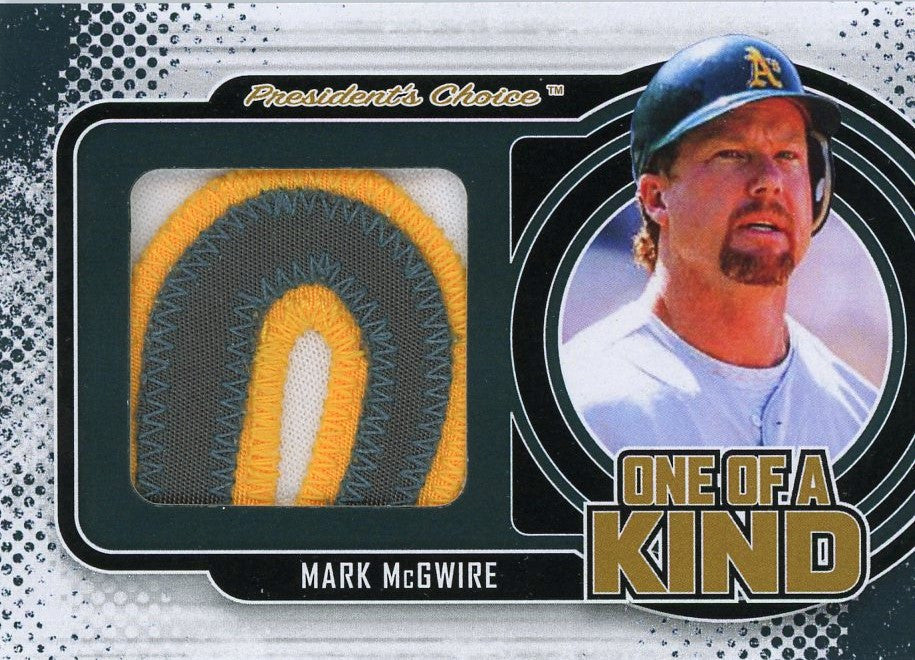 Mark McGwire One of A Kind 1/1