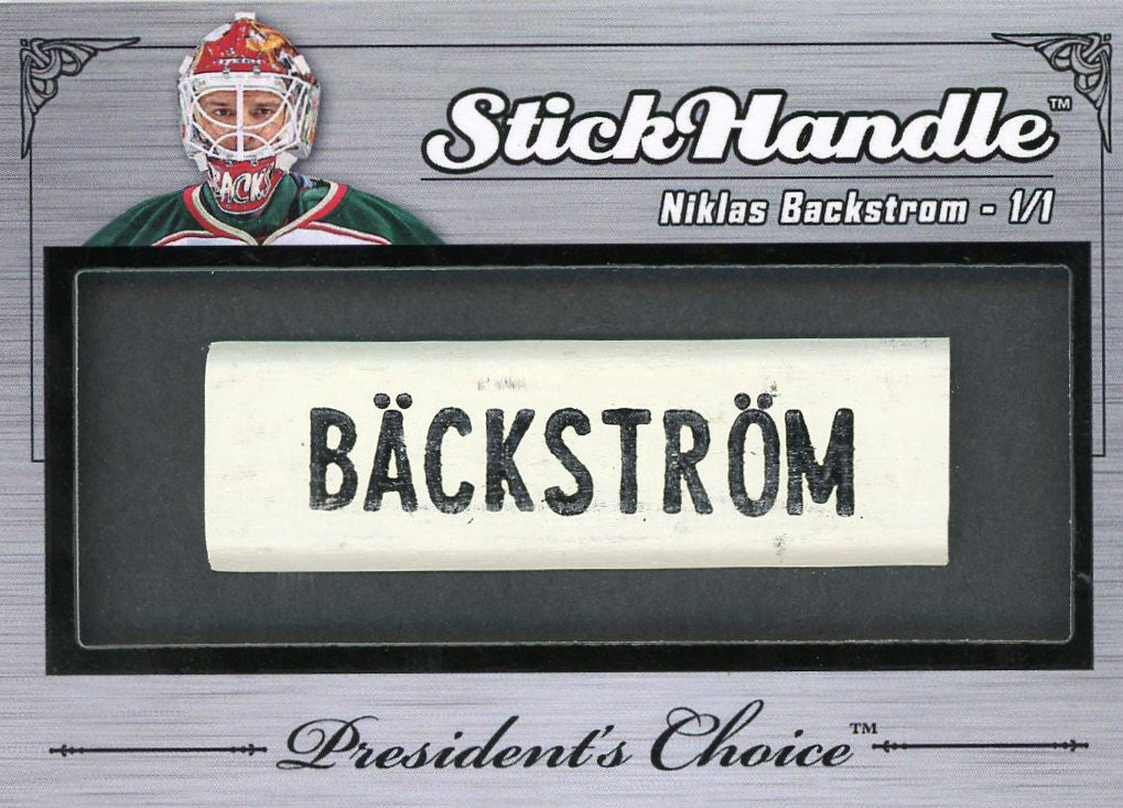 Nicklas Backstrom StickHandles 1/1