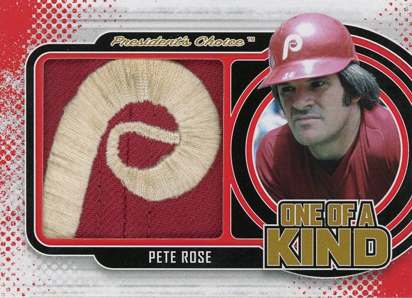 Pete Rose One of a Kind 1/1