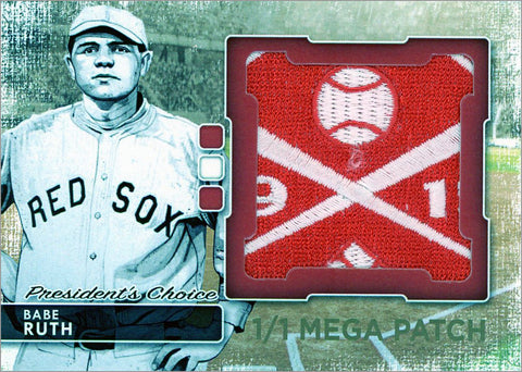 Babe Ruth (Boston) MegaPatch 1/1 (A)