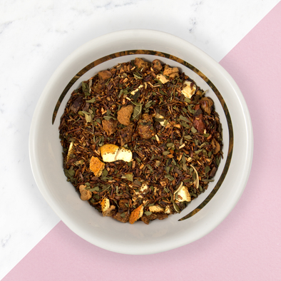 chocolate mint rooibos loose leaf tea