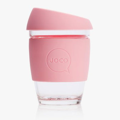 PINK GLASS REUSEABLE CUP<br><span>Joco</span>