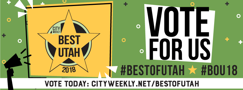Vote for Us on City Weekly's Best of Utah!