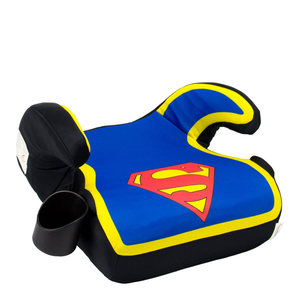 KidsEmbrace DC Comics Superman Backless Booster Car Seat