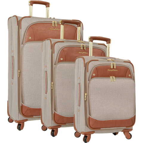 Tommy Bahama Boracay 3 Piece Expandable Spinner Luggage Set