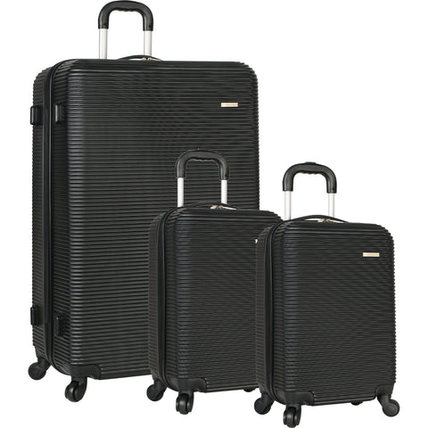 Travel Gear Crater 3 Piece Hardside Spinner Luggage Set