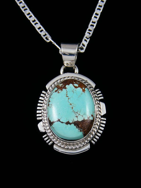Native American Sierra Nevada Turquoise Pendant