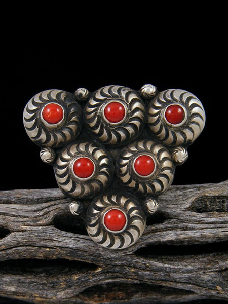 Coral Ring, Size 7