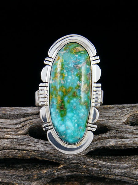 Sonoran Gold Turquoise Ring, Size 7