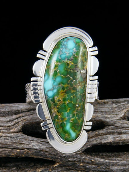 Sonoran Gold Turquoise Ring, Size 8