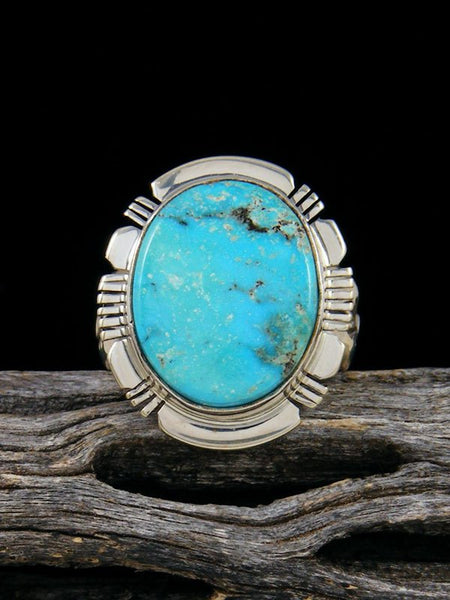 Turquoise Mountain Ring, Size 7