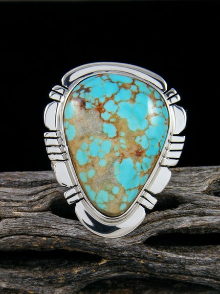 #8 Turquoise Ring, Size 9