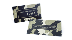 Knockaround Benny Gold Fog Camo Sunglasses, Insert Card