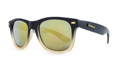 Knockaround Benny Gold Fog Camo Sunglasses, ThreeQuarter