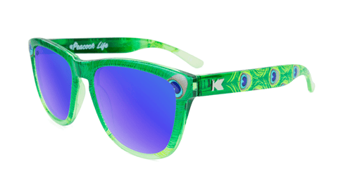 Knockaround Peacock Sunglasses, Flyover