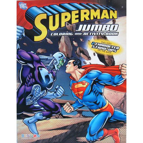 Superman Jumbo Coloring and Activity Book