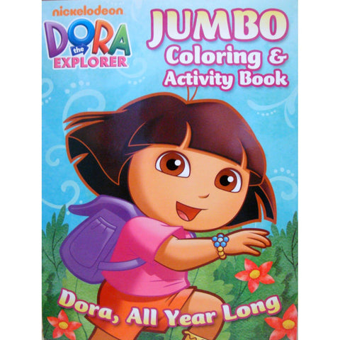 Dora the Explorer Jumbo Coloring and Activity Book - 96pages